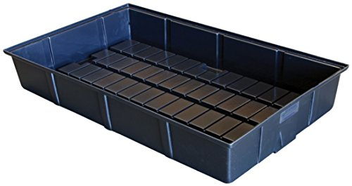"Botanicare HGC707061 Grow Tray 24"" x 44"" x 7"", Black"