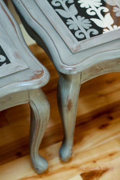 Furniture painting 101: the base coat | The Friendly Home